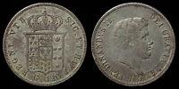 pci1009) Napoli Due Sicilie Ferdinando II piastra 1841 TONED