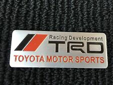 NEW TOYOTA TRD RACING SPORT TRUNK TAILGATE I FENDER EMBLEM LOGO BADGE DECAL #7