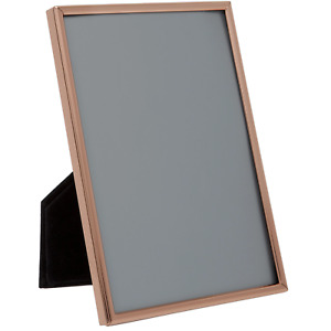 ROSE GOLD COLOURED THIN EDGE PICTURE PHOTO FRAME -  8 x 10 -inch
