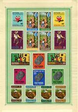 Weeda Guyana 42/187 VF LH 1968-1973 Commonwealth CV $38.20