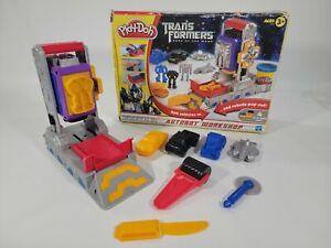 Play Doh Transformers Dark of the Moon Autobot Workshop No Doh Hasbro 2010