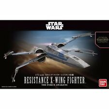 BANDAI 1/72 RESISTANCE X-WING FIGHTER The Force Awakens Model Kit STAR WARS