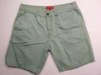 "PADINI AUTHENTICS Men's Shorts Pants size 36 waist= 35"" Army Green 100% Cotton"