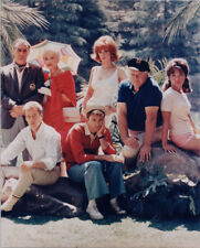 Gilligan's Island 8x10 photo Gilligan Skipper & cast pose on shore first season