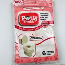 New listing Toilet Seat Covers- Disposable Xl Potty Seat Covers Individually Wrapped