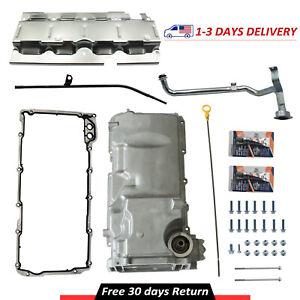 New Muscle Car Engine Oil Pan Kit Fits LS1 / LS3 / LSA / LSX Engines 19212593