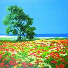 Robin el viejo árbol y el mar póster son impresiones artísticas imagen 70x70cm-sin gastos de envío
