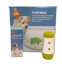 Animal Dog Puppy Interactive Slow Feeder Food Maze Puzzle Toy Anti Gulp