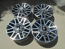 "20"" FORD F250 F350  FACTORY OEM  FACTORY WHEELS RIMS PLATINUM BLACK 2017"