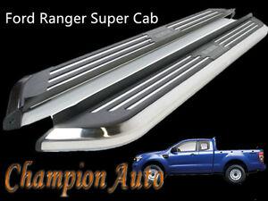 Ford Ranger PX/PX2 Super Cab  Side Steps Running Boards Aluminum 2012-2020 CMP94