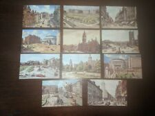 11 Coloured Postcards (Valentine's) Of Manchester