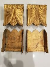 One Pair Of Neoclassical Egyptian Bronze Ornaments