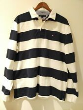 Tommy Hilfiger Rugby Polo Jumper Shirt L