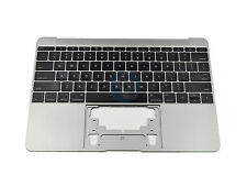 "95% NEW Space Gray US Keyboard Topcase 613-01195-B for MacBook 12"" A1534 2015"