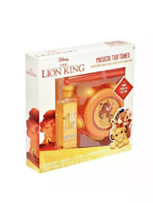 Disney The Lion King Musical Tub Tunes - 5 Piece Set- New In Box - Body Wash