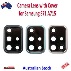 Back Camera Lens Replacement with Cover for Samsung Galaxy A71 A715