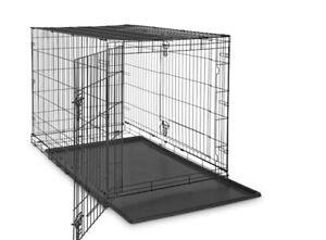 OxGord PTCG48 Dog Crate Double-Door