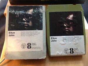 ELTON JOHN SELF-TITLED 8TRACK STEREO ORIG TAPE & CASING DJM Y8DJL 406 SOLID 1970