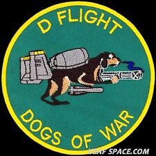 USAF 25TH FIGHTER SQUADRON -A-10- D FLIGHT-DOGS OF WAR- ORIGINAL AIR FORCE PATCH