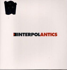 INTERPOL ANTICS LP VINYL 10 track limited edition white vinyl, released 11/12/20