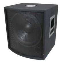"NEW 18"" SubWoofer Speaker.Pro Audio.BASS Woofer.Live Sound woofer w/ box.DJ.PA."