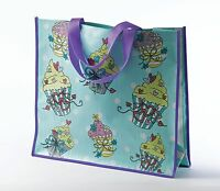 Sweet Treats, Cup Cakes Design PVC Shopper Shopping Bag  NEW  18607