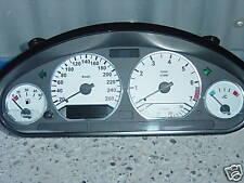 "BMW e36 Tachoscheiben Design ""WEISS""              01-15"
