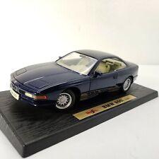 Maisto 1/18 BMW 850i 1990 Diecast Collectible Model Car Blue