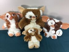 VTG & Modern LOT 4 Gremlins GIZMO Plush Dolls Neca Applause Hasbro Singing 10""