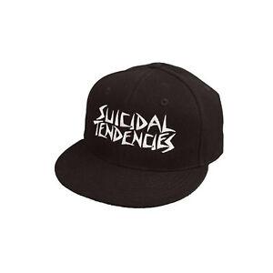 SUICIDAL TENDENCIES - SNAPBACK HAT CAP - BLACK - GENUINE NEW DOGTOWN THRASH PUNK