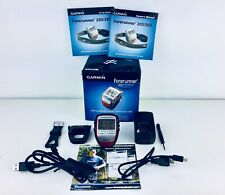 Garmin Forerunner 305 GPS Receiver With Heart Rate Monitor & Accessories