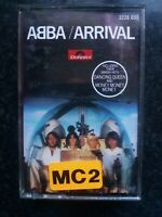 ABBA - ARRIVAL cassette music tape 1976 includes DANCING QUEEN Polydor/Polar