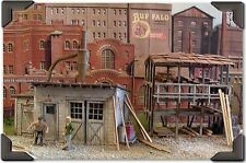 Bar Mills The Crown Crate Company Laser-Cut Wood Structure Kit #424 O Scale