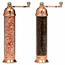 William Bounds Otto Copper Himalayan Salt & Pepper Mill Set