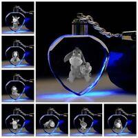 Eeyore donkey keyring Key Chain LED light bling key chain gift new new
