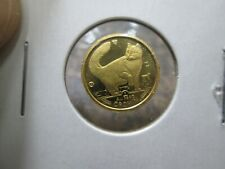 New Listing1991 Isle Of Man Cat 1/25 Ounce Gold Coin In Uncirculated Condition