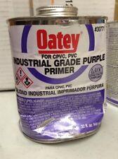 Oatey Primer Purple. #30771. For Cpvc, Pvc.
