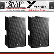 "Yorkville PS12P Pro Powered 12"" 1400W Parasource Active Loudspeaker 12"" (PAIR)"