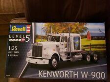 REVELL GERMANY 7659 KENWORTH W900 TRUCK TRACTOR MODEL KIT NISB