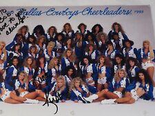 "1993 Dallas Cowboy's Cheerleaders Autographed photo Print 8.5"" x 11"""