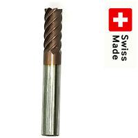 FRAISA SWISS VHM End Mill Solid CARBIDE 12mm 6 FLUTE Schaftfräser