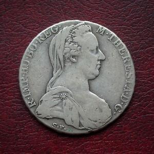 Austria 1780 Maria Theresa silver thaler