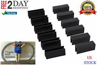 Lucas Toys Train Track Clips for Lionel O-Gauge FasTrack Tracks Pack of 12 New