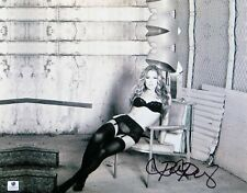 Ronda Rousey Signed Autographed 11X14 Photo UFC Sexy B/W Lingerie GV830624