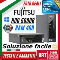 PC COMPUTER FISSO FUJITSU ESPRIMO C5730 USFF CORE 2 DUO RAM 4GB HDD 500GB_24H!!!