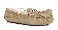 UGG Australia Dakota Tobacco Suede Fur Slippers Womens Size 8 *NIB*