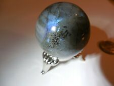35mm AAA LABRADORITE SPHERE 56g :Madagascar ;orgone;Metaphysical:Reiki  #54