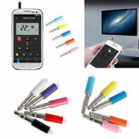 Mini Infrared IR Mobile Smart Remote 3.5mm Plug Control For IOS Android Hot