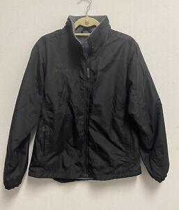 Columbia Women's Fleece Lined Black Jacket Size Medium Used