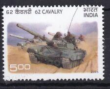 INDIA MNH STAMP SET 2006 SG 2323 62 CAVALRY ARMOURED REGIMENT TANK